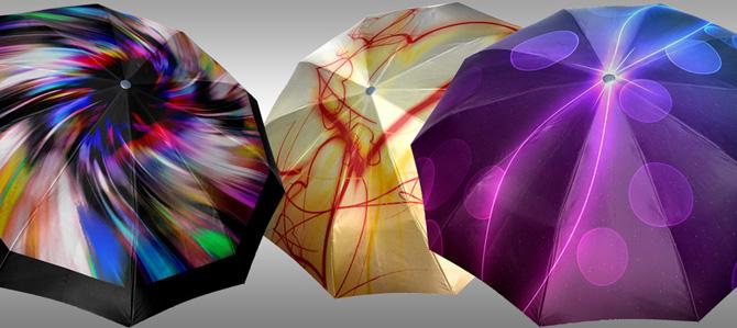 зонт женский автомат 3 сложения