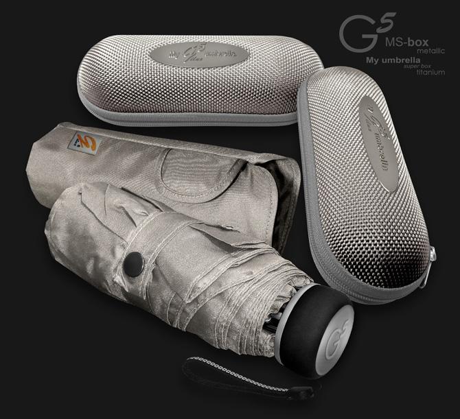 мини зонты с металлизированным эффектом G5