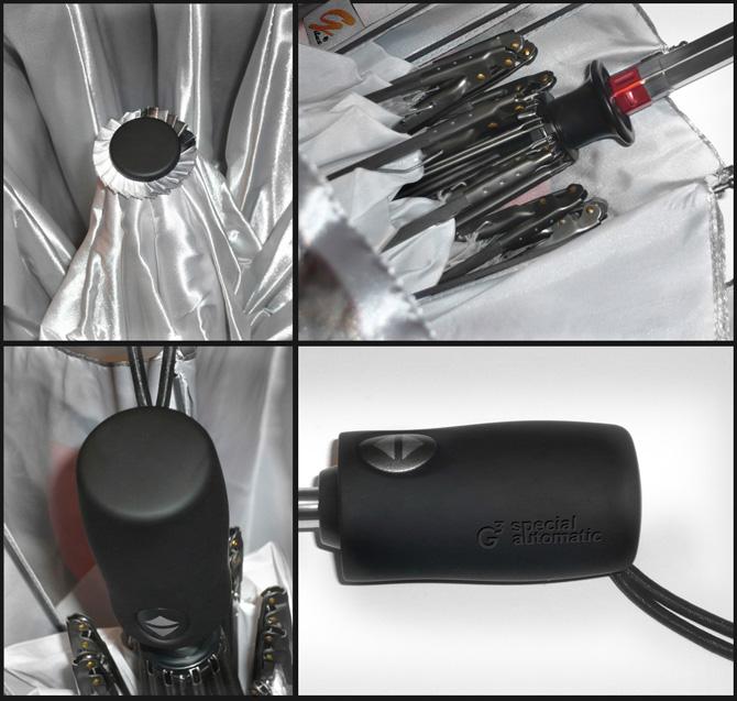 зонт складной автомат конструкция